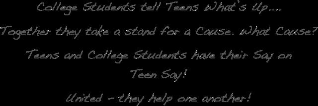 Teen Say